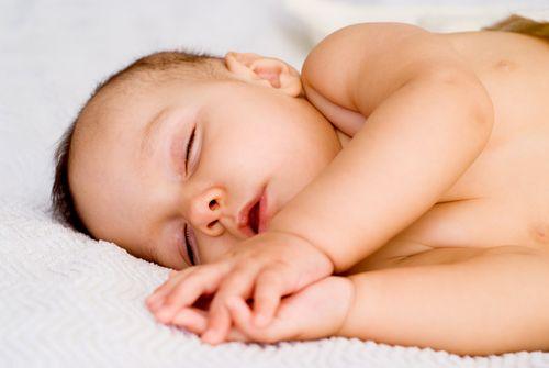 תינוק ישן (אילוסטרציה)