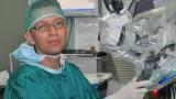 """ד""""ר קנצל בבי""""ח קפלן (צילום"""" בי""""ח קפלן)"""