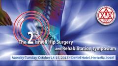 הכנס הישראלי ה-2 בנושא ניתוחי ירך ושיקום