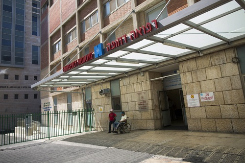 רפואה דחופה. חדר המיון בבית החולים הדסה עין כרם (צילום: פלאש 90)