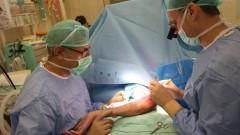 """מהלך הניתוח בבית החולים """"זיו"""" בצפת (צילום: """"זיו"""")"""