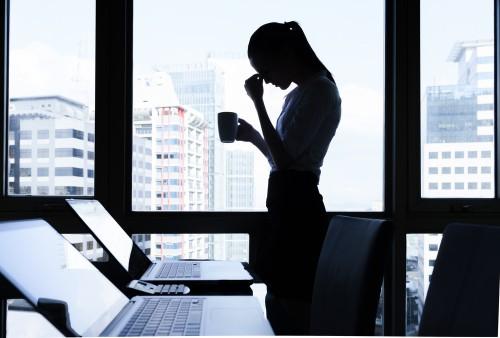 מנהלת, דיכאון (צילום: אילוסטרציה)