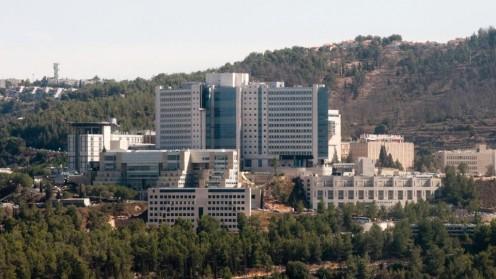 """המרכז הרפואי """"הדסה"""" עין כרם (צילום: יח""""צ)"""