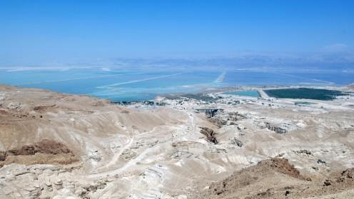 """מבט לים המלח מכיוון ערד (צילום: דוד גרינספן / """"פלאש 90"""")"""