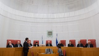 """בית המשפט העליון, בג""""צ (צילום: יונתן סינדל / """"פלאש 90"""")"""