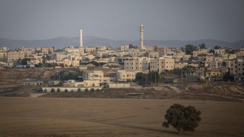 """העיר הבדואית רהט (צילום: הדס פרוש / """"פלאש 90"""")"""