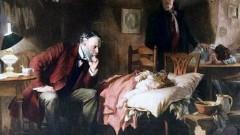 הדוקטור, סר לוק פלידס 1891 (מקור: ויקיפדיה)