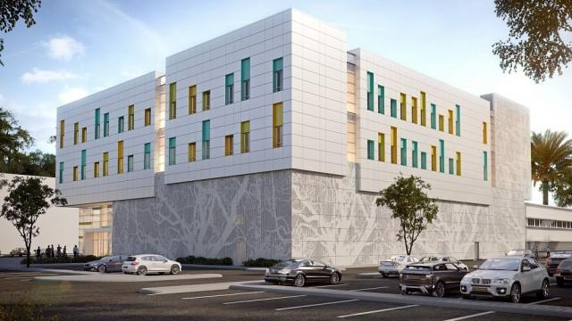 """הדמיית בית החולים החדש לילדים במרכז הרפואי """"וולפסון"""" (מקור: """"וולפסון"""")"""