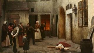 Jakub Schikaneder - Murder in the House (מקור: ויקיפדיה)