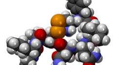 אוקסיטוצין, מולקולה (הדמיית אילוסטרציה)