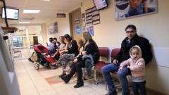 """תור בקופת חולים (צילום: """"פלאש 90"""")"""