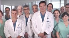צוות המחלקה לניתוחי לב חזה באיכילוב
