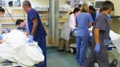 """חדר מיון בבית חולים בארה""""ב (צילום: אילוסטרציה)"""