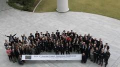 משתתפי הכנס לקביעת קווים מנחים לחקר הטפול בסרטן השחלה, בטוקיו (צילום: פרטי)