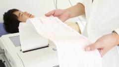 """בדיקת אק""""ג בחולים אסיאתים (צילום: אילוסטרציה)"""