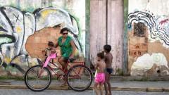 ילדים בשכונת עוני בברזיל (צילום: אילוסטרציה)