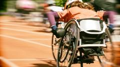 מקצה בתחרות לספורטאים בכסא גלגלים (צילום: אילוסטרציה)