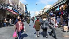 קונים בשוק מחנה יהודה בירושלים (צילום: אילוסטרציה)