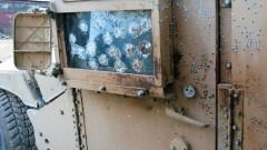 נזקי מטען חבלה שהופעל נגד סיור של כוחות הצבא האמריקאי באפגניסטאן (צילום: אילוסטרציה)