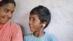 ילד הודי הסובל מחירשות מלידה בעיר בוהפאל בהודו (צילום: אילוסטרציה)