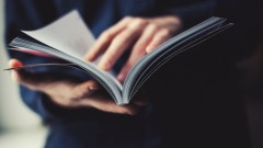 (reading magazine (shutterstock