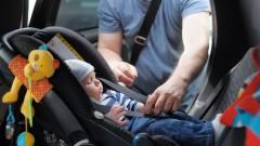 תינוק במושב בטיחות (צילום: אילוסטרציה)