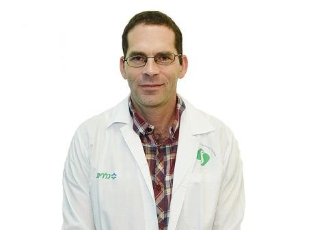 """ד""""ר ליאור זלר (צילום: """"סורוקה"""")"""