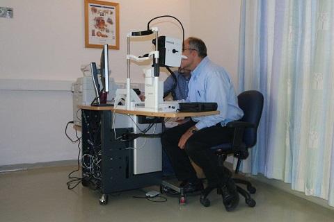 """חדר במרכז החדש לרפואת עיניים ב""""הדסה"""" (צילום: """"הדסה"""")"""