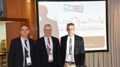 """מימין: פרופ' עופר אמיר, פרופ' סטיבן ברייקר, ד""""ר ארז און (צילום: """"פורייה"""")"""