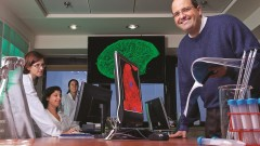מימין: פרופ' ליאור גפשטיין וצוות המחקר (צילום: הטכניון)