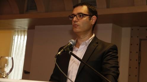 """מנכ""""ל משרד הבריאות, משה בר סימן טוב, בכנס איגוד הפסיכיאטריה (צילום: יח""""צ)"""