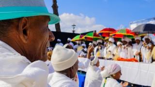 ישראלים ממוצא אתיופי חוגגים את חג הסיגד בירושלים (צילום: אילוסטרציה)