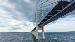 (The bridge between Denmark and Sweden, Oresundsbron (shutterstock