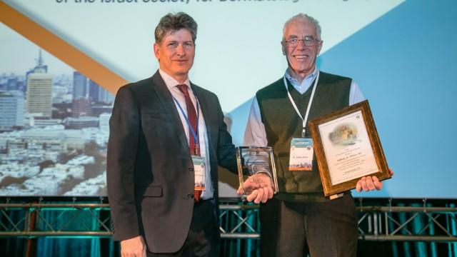 Dr. Jeff Klein lifetime acheivment award