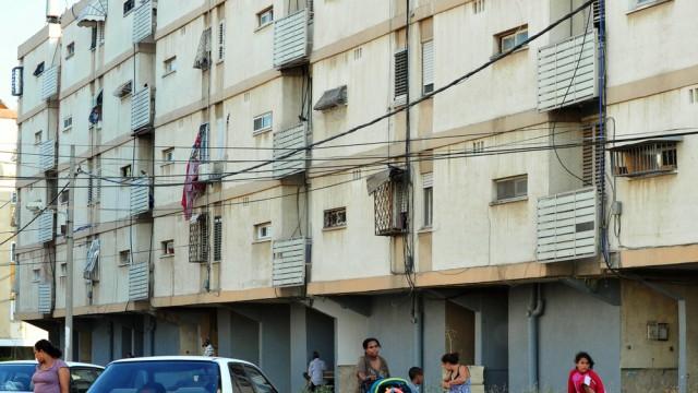 בתי שיכונים בקריית מלאכי, עוני בישראל (צילום: אילוסטרציה)