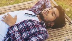 חלימה בהקיץ, גבר ישן (צילום: אילוסטרציה)