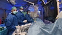 """חדר הטיפולים לצנתורי מוח ב""""סורוקה"""" (צילום: """"סורוקה"""")"""