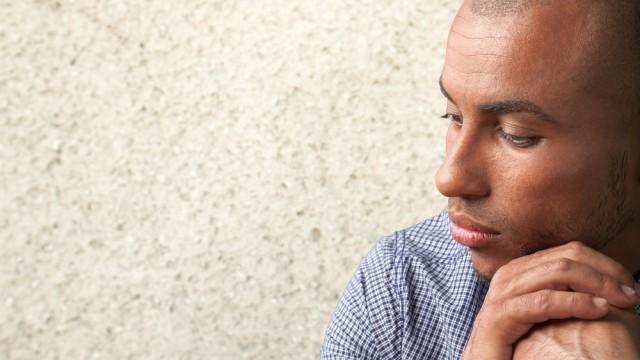 דיכאון בקרב גברים (צילום: אילוסטרציה)