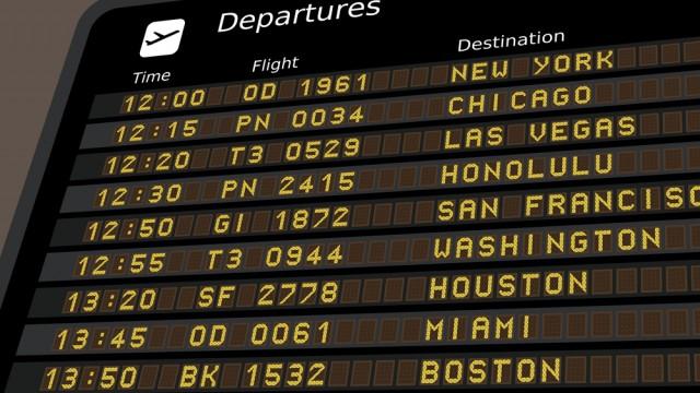 """שדה תעופה בארה""""ב (צילום: אילוסטרציה)"""