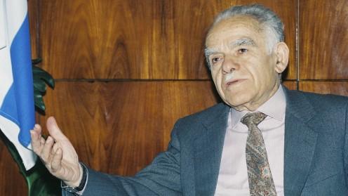 ארכיון: ראש הממשלה המנוח יצחק שמיר (צילום: פלאש 90)