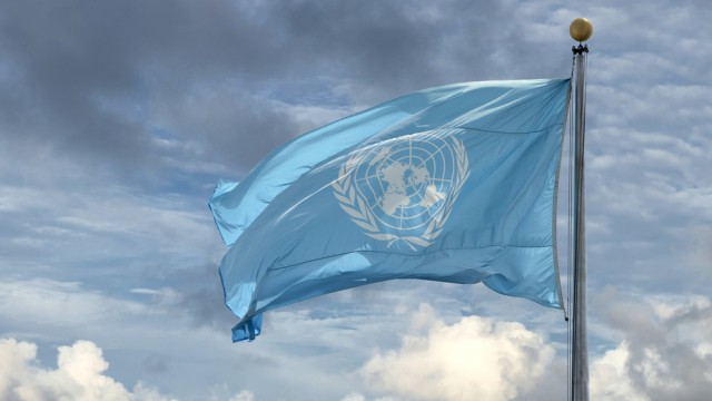 """דגל האו""""ם במטה הארגון בניו-יורק (צילום: אילוסטרציה)"""
